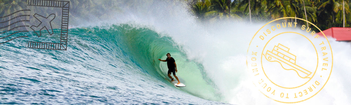 Wave of the Day Nias Surf Travel Indonesia Tyler barrel
